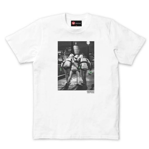 chunk on the town white t shirt