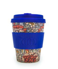 Reusable Ecoffee Coffee Cup Wandle William Morris 12oz