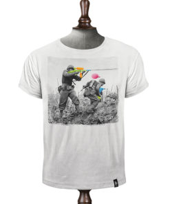 Dirty Velvet Water Fight Grey Tee