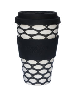 Reusable Ecoffee Coffee Cup Basketcase 14oz