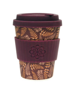 Reusable Ecoffee Coffee Cup Tiny Garden Beatrix 12oz