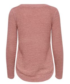 Only Geena Blush Loose Knit Jumper