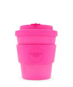 Reusable Ecoffee Coffee Cup Pink'd 8oz