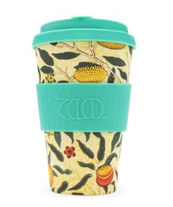 Reusable Ecoffee Coffee Cup Pomme William Morris 14oz