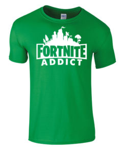 Fortnite Addict Red T-Shirt