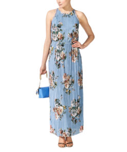 Vila Vibmaxi Cashmere Blue Dress