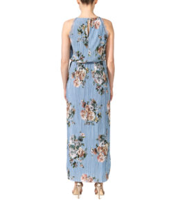 Vila Vibmaxi Cashmere Blue Dress 2