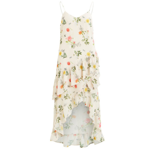 vitrillie Ruffle Floral Dress