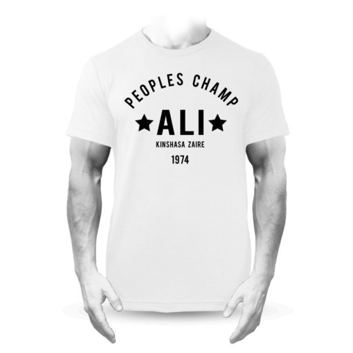 Muhammad Ali Rumble in the Jungle Boxing T-Shirt White