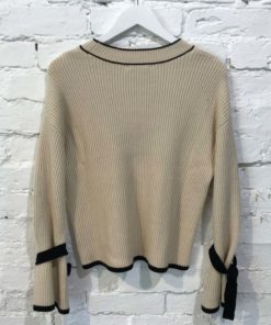 Native Youth Yale Statement Sleeve Knit