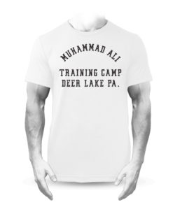 Muhammad Ali Deer Lake Boxing Training Camp Premium T-Shirt White