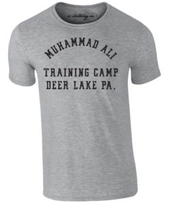 Muhammad Ali Deer Lake Boxing Training Camp Premium T-Shirt Grey