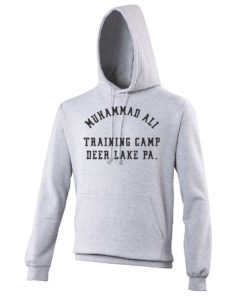 Muhammad Ali Deer Lake Training Camp Boxing Grey Premium Hoody