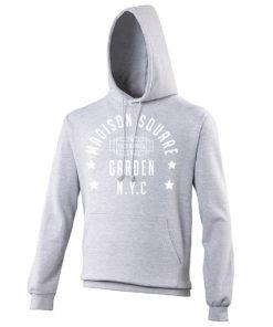 Madison Square Garden NYC Boxing Grey Premium Hoodie