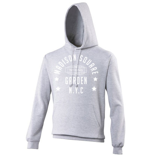 Madison Square Garden NYC Boxing Grey Premium Hoodie