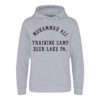Muhammad Ali Deer Lake Training Camp Boxing Grey Superior Premium Hoody