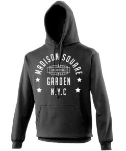 Madison Square Garden NYC Boxing Black Premium Hoodie Hoody