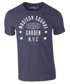 Madison Square Garden NYC Boxing Premium T-Shirt Navy