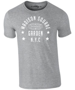 Madison Square Garden NYC Boxing Premium T-Shirt Grey