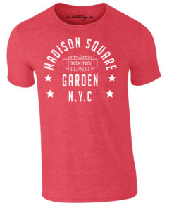 Madison Square Garden NYC Boxing Premium T-Shirt Red