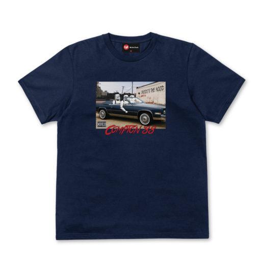 Chunk Droids In The Hood Navy T-Shirt
