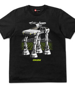 Chunk Future Wars Black T-Shirt