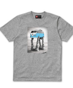 Chunk Star Wars Walking Camper Grey T-Shirt