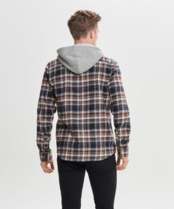 Only & Sons Mikkel Check Lumberjack Shirt