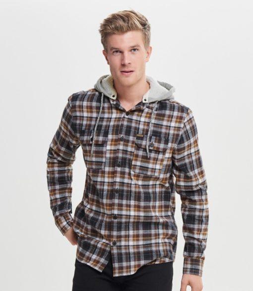 Only & Sons Mikkel Check Lumberjack Shirt
