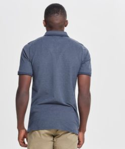 Only & Sons Stan Fitted Polo - Blue