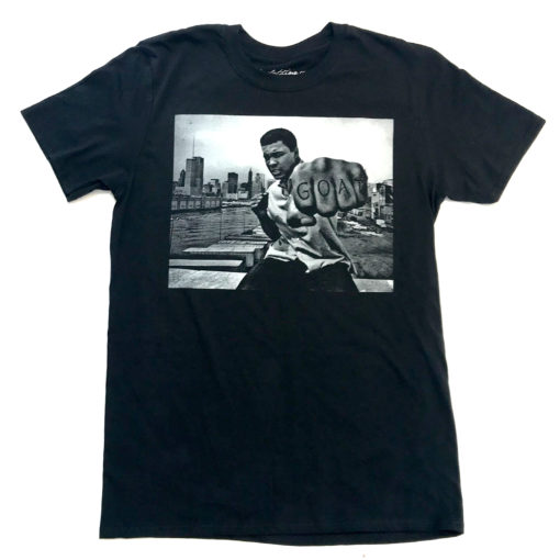 Muhammad Ali GOAT Greatest Of All Time Black T-Shirt