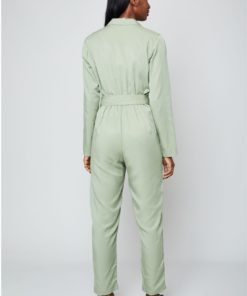 Native Youth Double Breasted Jumpsuit