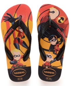 Havaianas Kids OS Incriveis 2 Strawberry Incredibles Flip Flops