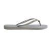 Havaianas Womens Slim Glitter Steel Grey Flip Flops