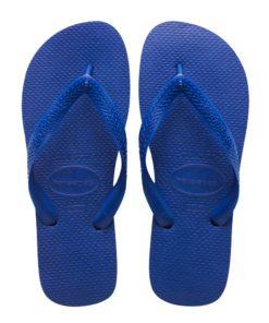 Havaianas Mens Top Marine Blue Flip Flops