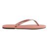 Havaianas Womens You Metallic Rose Nude Flip Flops