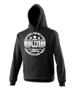 Iron Mike Tyson Catskill Boxing Club Black Premium Hoodie