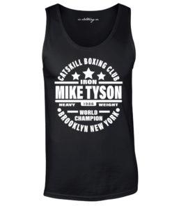 Iron Mike Tyson Catskill Boxing Club Vest Black