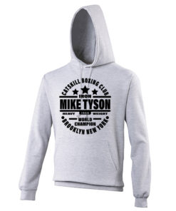 Iron Mike Tyson Catskill Boxing Club Grey Premium Hoodie