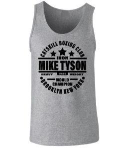 Iron Mike Tyson Catskill Boxing Club Vest Grey