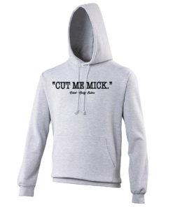 Cut Me Mick Boxing Film Rocky Balboa Grey Premium Hoodie