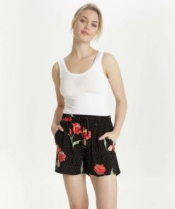 B.Young Hailey Floral Dot Shorts