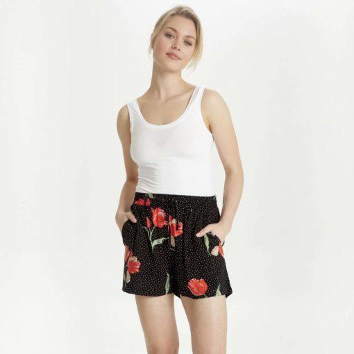 B.Young Hailey Floral Dot Shorts