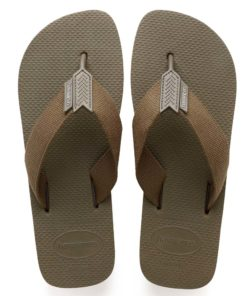 Havaianas Mens Urban Basic Khaki Flip Flops