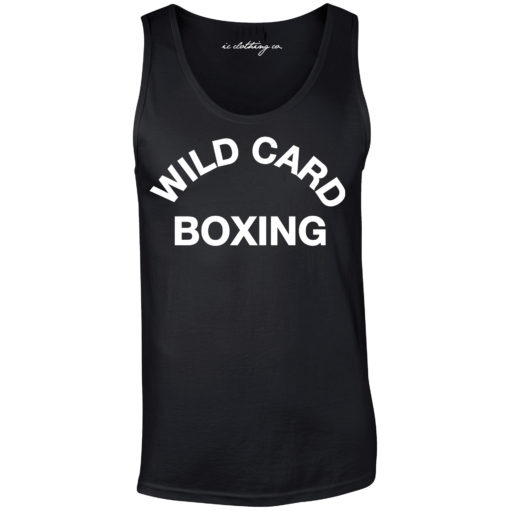 Wild Card Boxing Vest Black