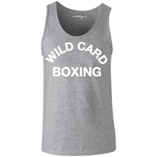 Wild Card Boxing Vest Grey