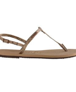 Havaianas Womens You Riviera Croco Rose Gold Flip Flops
