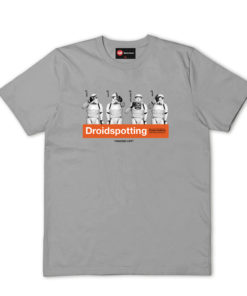 Chunk Droidspotting Grey T-Shirt