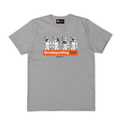 Chunk Droidspotting Grey T-Shirt