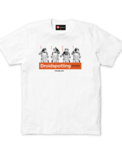 Chunk Droidspotting White Mens T-shirt